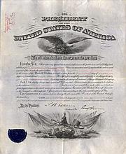 HARRISON BENJAMIN: (1833-1901) American President