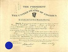 MCKINLEY WILLIAM: (1843-1901) American President 1