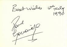 FOOTBALL: An excellent autograph album containing