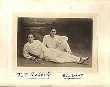 DOHERTY REGINALD: (1872-1910) English Tennis