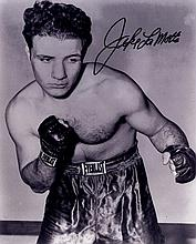 BOXING: Selection of signed 8 x 10 photographs and