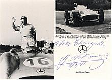 FANGIO JUAN MANUEL: (1911-1995) Argentinean Motor