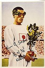 ATHLETICS: Selection of signed postcard