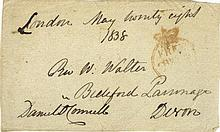HISTORICAL: Selection of signed Free Front envelope panels,
