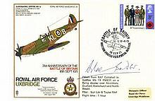 BATTLE OF BRITAIN: Selection of signed First Day Covers by v