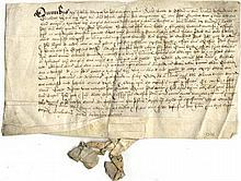 [HENRY VIII]: (1491-1547) King of England 1509-47. Manuscrip