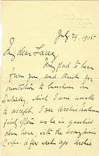 GRACE W. G.: (1848-1915) English Cricketer. A.L.S., W. G. Gr