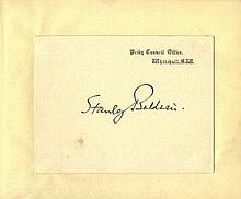 AUTOGRAPH ALBUMS: Two autograph albums containing over 30 si