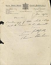 AUTOGRAPHS: Miscellaneous selection of A.Ls.S., T.Ls.S., som