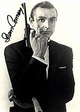 JAMES BOND: Selection of signed postcard