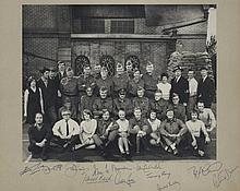 DAD'S ARMY: An excellent vintage signed 18.5 x 16