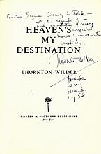 WILDER THORNTON: (1897-1975) American Playwright &