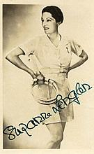 LENGLEN SUZANNE: (1899-1938) French Tennis Player,