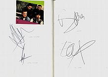AUTOGRAPH ALBUM: An autograph album containing