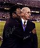 PELE (1940- ) Brazilian Footballer & CHARLTON