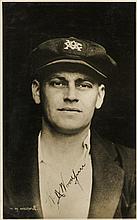 WOODFULL WILLIAM: (1897-1965) Australian Cricketer