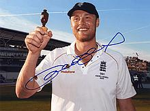 CRICKET: Selection of signed colour 8 x 10