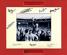ENGLAND FOOTBALL: Selection of signed 8 x 10
