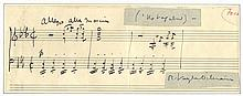 VAUGHAN WILLIAMS RALPH: (1872-1958) English Composer. A rare
