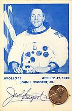 SWIGERT JACK: (1931-1982) American Astronaut, Command Module
