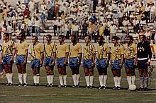 BRAZIL FOOTBALL: A good signed colour 12 x 8 photograph by e