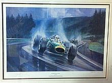 BRABHAM JACK: (1926-2014) Australian Motor Racing Driver, Fo