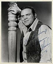 BLOCKER DAN: (1928-1972) American Actor. Signed and inscribe