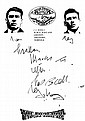 CRIME: Small selection of A.Ls.S. (2), signed
