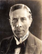 ARLISS GEORGE: (1868-1946) English Actor, Academy Award winner. Vintage signed sepia 8 x 10 photogra