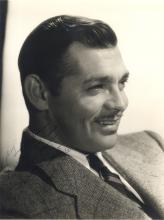 GABLE CLARK: (1901-1960) American Actor, Academy Award winner. A good vintage signed and inscribed 1