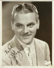 CAGNEY JAMES: (1899-1986) American Actor, Academy Award winner. Vintage signed and inscribed 8 x 10
