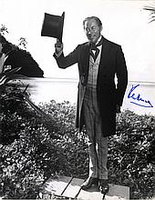 HARRISON REX: (1908-1990) English Actor, Academy Award winner. Signed 11 x 14 photograph of Harrison