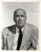 JAGGER DEAN: (1903-1991) American Actor, Academy Award winner. Signed and inscribed 8 x 10 photograp