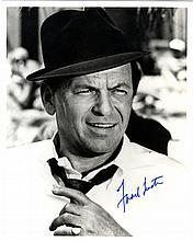 SINATRA FRANK: (1915-1998) American Singer & Actor, Academy Award winner. Signed 8 x 10 photograph o