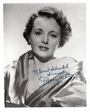 ASTOR MARY: (1906-1987) American Actress, Academy Award winner. Signed and inscribed 8 x 10 photogra