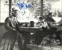 PAPER MOON: Signed 10 x 8 photograph by both Ryan O'Neal (Moses 'Moze' Pray) and Tatum O'Neal (Addie