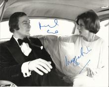 CALIFORNIA SUITE: Signed 10 x 8 photograph by both Oscar winning actors Michael Caine (Sidney Cochra