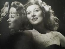 GARSON GREER: (1904-1996) Anglo-American Actress, Academy Award winner. Vintage signed and inscribed