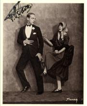 ASTAIRE FRED: (1899-1987) American Dancer & Actor, Academy Award winner. Signed 4 x 6 postcard photo