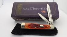 Case XX Case Brothers Two Blade Chestnut Bone Knife 6215