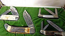 Case XX, Schrade, Fight'n Rooster, Kissing Crane NKCA set 0549