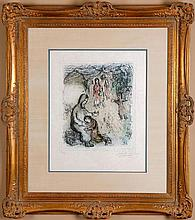 Chagall, Marc. La Benediction de Jacob
