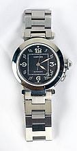 Cartier Pasha C Stainless Steel Wristwatch