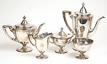 Tiffany & Co. Sterling Coffee & Tea Set