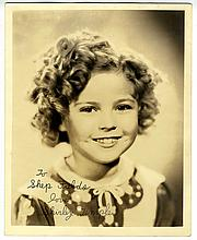 2 Signed Photos by The Greatest Child Stars of Hollywood's Golden Age, Shirley Temple, Jackie Cooper (Hurrell)