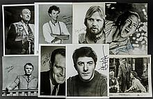 8 Best Actor Oscar Winners - Autographed Photos Including Heston, Voight, Hanks, Holden and Niven.