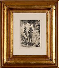 Durand, Amand. After Rembrandt, Adam and Eve, The Return of the Prodigal Son