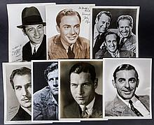 Vintage and Signed Male Portraits from the 30's and 40's - Group of 7