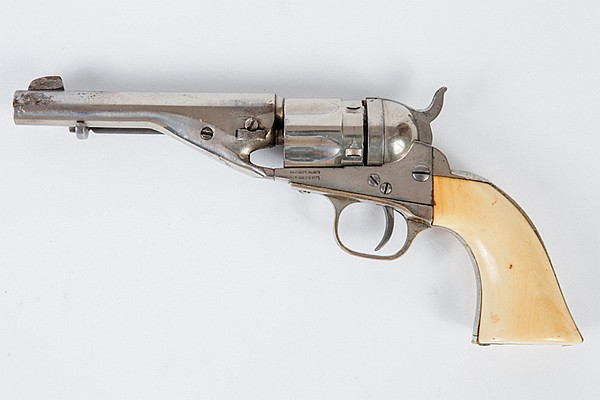 A Very Fine Colt Pocket Model 1853 Conversion With Ejector Housing .