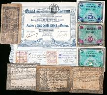 Vintage Colonial Currency
